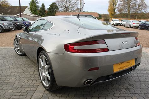 cheapest aston martin used 2005 aston martin vantage 4 3 v8 cheap tax two owners