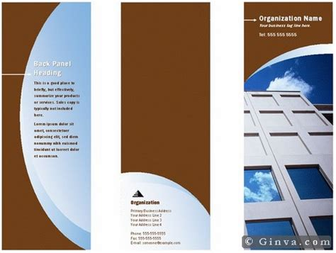 11 Powerpoint Brochure Templates Ginva Free Microsoft Office Brochure Templates Ginva