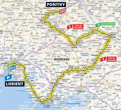 In 2021 the tour de france will take riders right across france twice, once from the northwest to the alps, and then from the alps to the southwest, taking in some inevitable days of gruelling mountain roads in the alps and the pyrenees. Tour de France 2021 Parcours etappe 3: Lorient - Pontivy