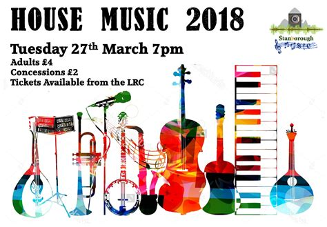 House Music 2018, Tuesday 27th March