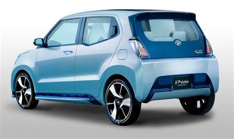 Daihatsu Car : Cuatro Futuros Kei Car De Daihatsu Del Tokio Futuro