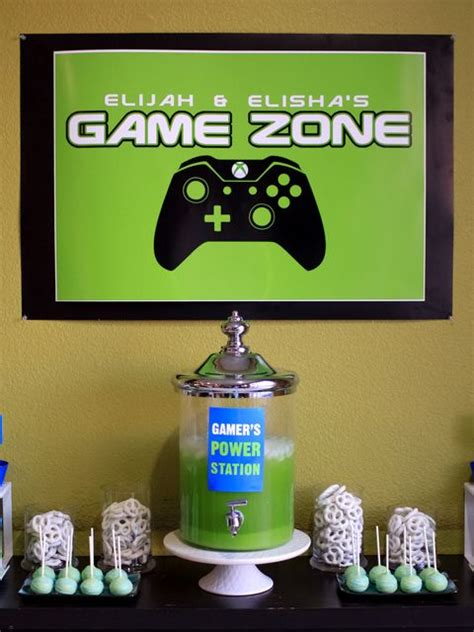 video games birthday party   party ideas