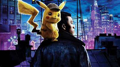 Pikachu Detective Background Neon Psyduck Wallpapers Pokemon
