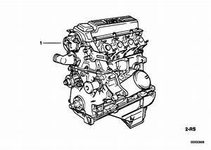 Original Parts For E36 318tds M41 Touring    Engine   Short Engine