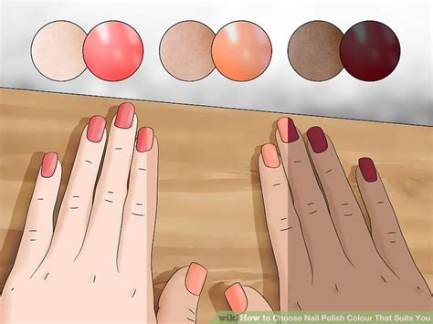 ways  choose nail polish colour  suits  wikihow