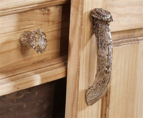 Deer Cabinets by New Whitetail Deer Antler Drawer Cabinet Pull Choice