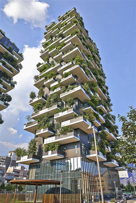 Vertical Forest: Buildings of the future will produce