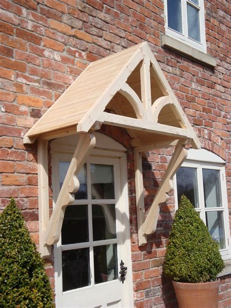 Entry Door Awning by Timber Front Door Canopy Porch Quot Blakemere Scrolled