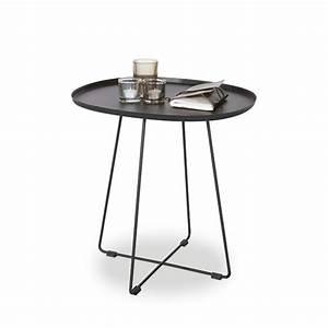 Table En Metal : table basse en m tal pi tement crois otis par ~ Teatrodelosmanantiales.com Idées de Décoration