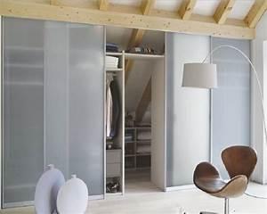Porte Coulissante Miroir Placard : mais de 1000 ideias sobre porte coulissante miroir no ~ Premium-room.com Idées de Décoration