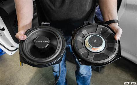 bavsound stage 1 premium speaker upgrade kit f82 m4 w g flickr