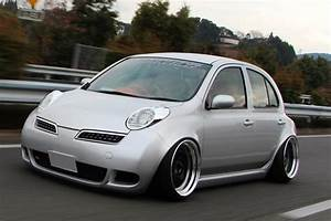 Cool Stanced Nissan Micra