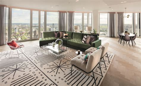 south bank towers refitted interiors revealed wallpaper