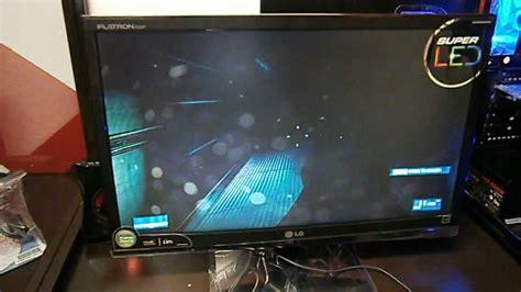 Unboxing Monitor Led Lg E2241 Youtube