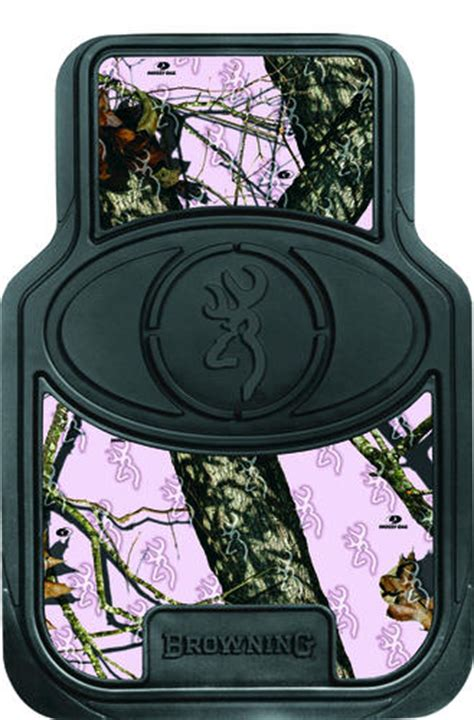 browning 174 pink camo 2 piece floor mat at menards 174