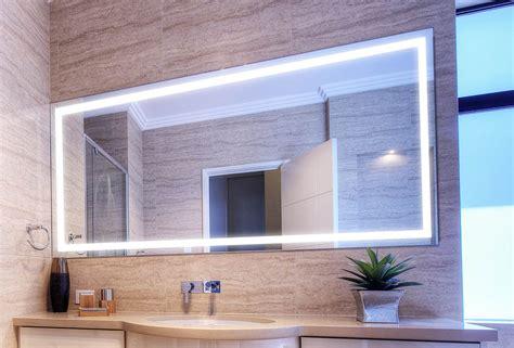 Lighted Mirror Bathroom by Verge Lighted Bathroom Mirror Clearlight Designs