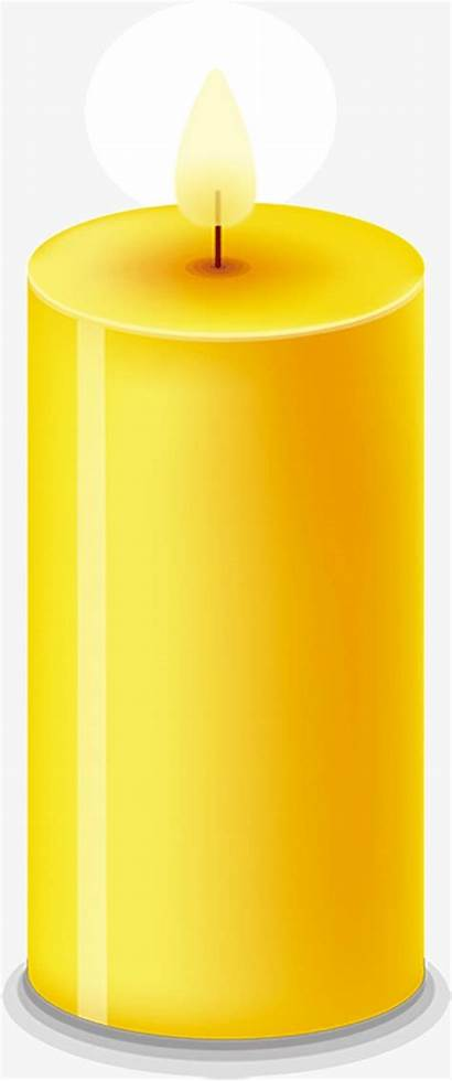 Candle Clipart Yellow Transparent Webstockreview