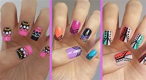 Stunning Step By Step Nail Art Designs At Home Photos ...