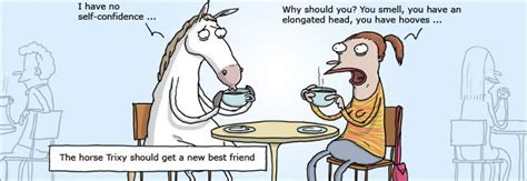 I Have No Self Confidencethe Horse Trixy Should Get A New