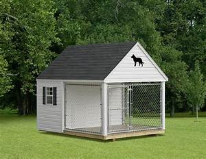 dog houses and kennels jim39s amish structures With vinyl dog house