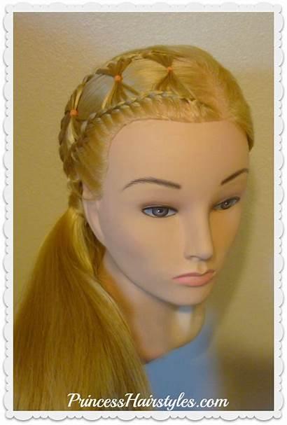Bow Braid Hairstyle Tie Braided Hair Hairstyles
