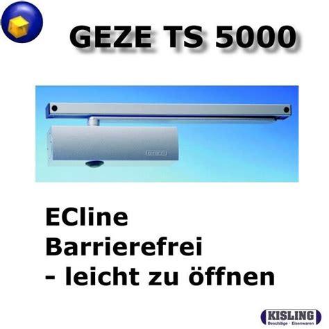 ts 5000 ecline geze ts 5000 ecline t 252 rschliesser komplett mit gleitschiene barrierefrei ebay