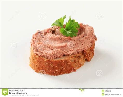 pate canapes pate canape royalty free stock images image 36505879