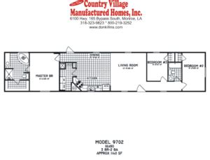 single wide floorplans don killins country village