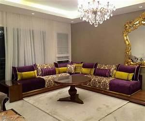 Decoration Salon Marocain Moderne 2017