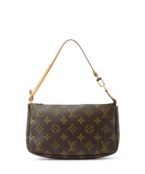 louis vuitton small brown monogram evening bag designer