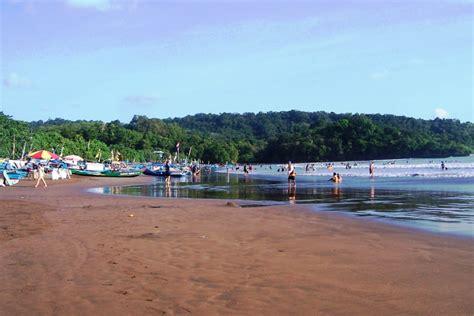 foto pantai pangandaran tempat wisata foto gambar