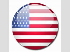 Button Flag United States Icon, PNG ClipArt Image