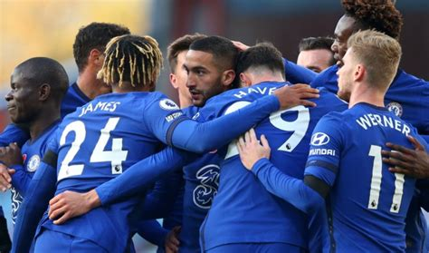 Werner and Ziyech to Start: Predicted Chelsea Lineup vs ...