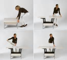 wooden kitchen island legs convertible tables smart and modern solutions for small spaces
