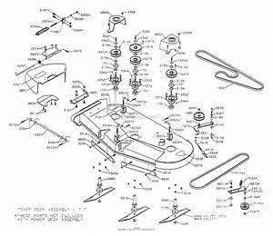 Dixon Ztr 4515b  1999  Parts Diagram For Mower Deck 50 U0026quot