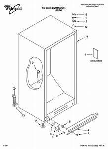Whirlpool Convertible Refrigerator  Freezer Parts