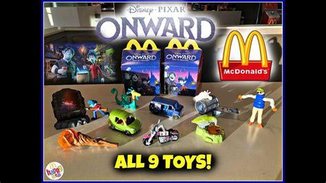 disney pixar onward  mcdonalds happy meal toys