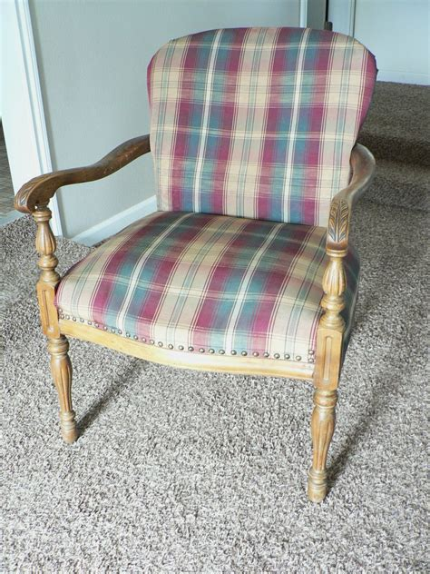 Getting A Chair Reupholstered by For The Of It Antique Chevron Reupholstered Arm Chair
