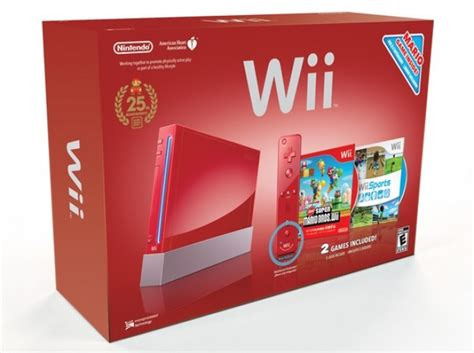 marios anniversary brings remote  red wii  dsi
