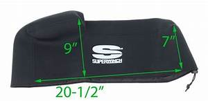Neoprene Winch Cover For Superwinch Talon  Tiger Shark  Lp Series  Ep Series  And X9 Superwinch