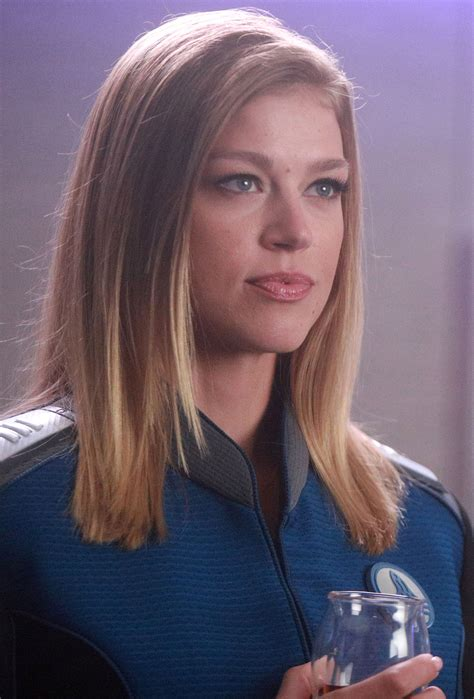 kelly orville actress the orville adrianne palicki on incredible sets hopeful