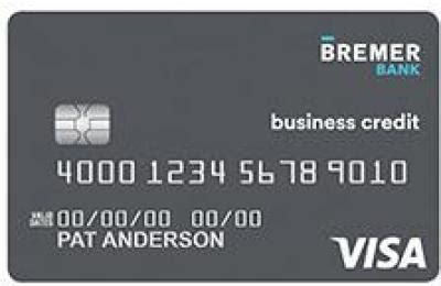 We did not find results for: Bremer Bank Visa Signature Business Company Card Reviews (June 2020) | Business Credit Cards ...