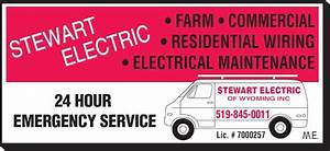 Stewart Electric - Opening Hours