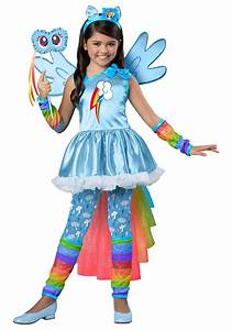 Rainbow Dash Costumes For Kids