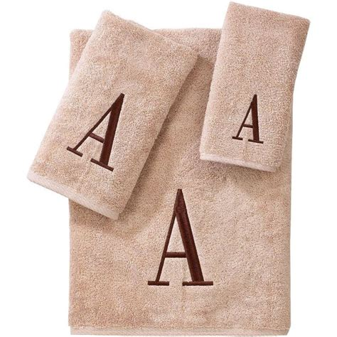 Jcpenney Bathroom Towel Sets by Jcpenney Avanti Monogram Block Bath Towels Jcpenney