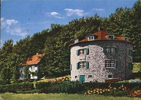 Pw00561 Poppenhausen Wasserkuppe Fuldaer Haus Jugendhaus