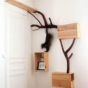 Arbre A Chat Moderne : arbre a chat scandinave ~ Melissatoandfro.com Idées de Décoration