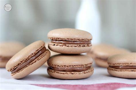 Chocolate Hazelnut Macarons  Butter Baking