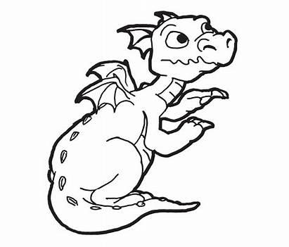 Dragon Coloring Pages Preschool Printable Animals Kindergarten