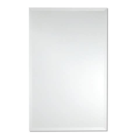 Rectangle Bathroom Mirrors by Frameless Rectangle Wall Mirror Bathroom Vanity